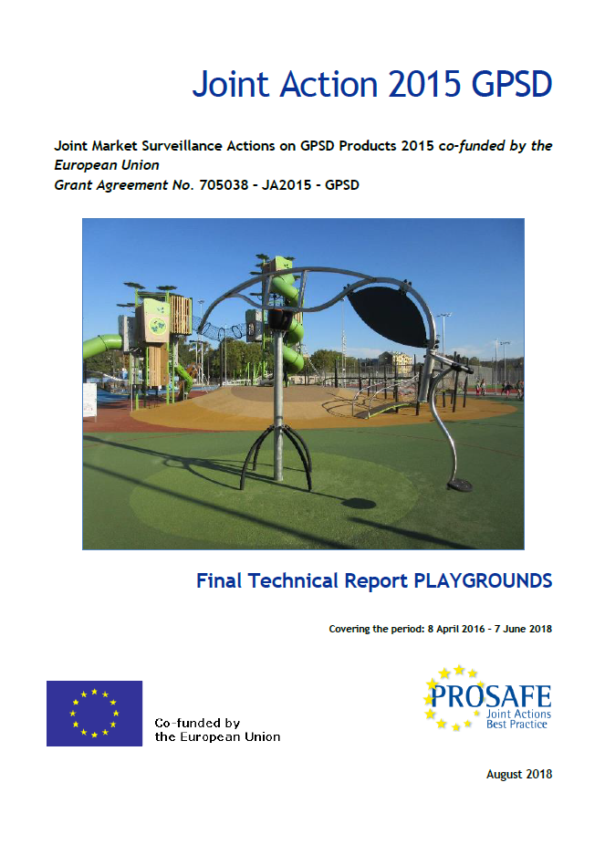 JA2015 Final Report Playground cover page