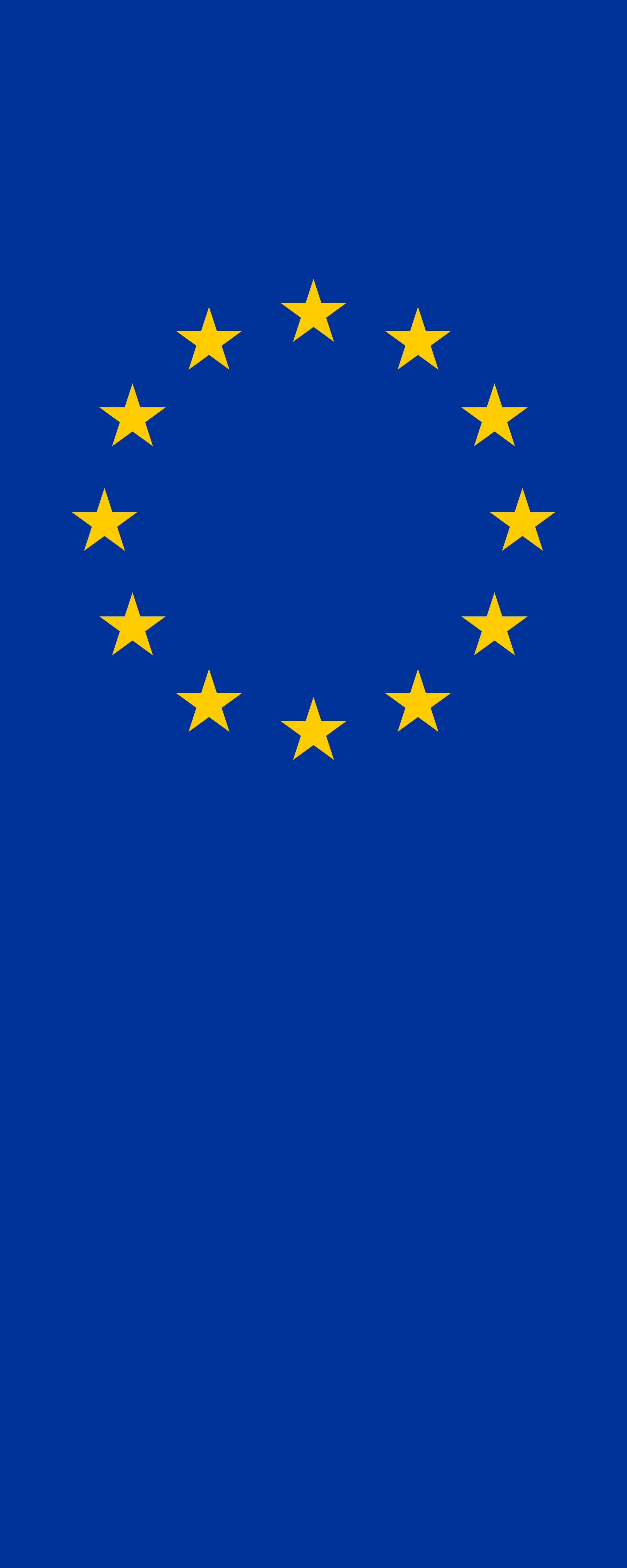 vertical flag of europe